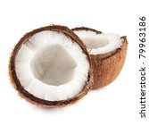 Two Coconut Half