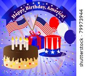 independence day celebration... | Shutterstock . vector #79973944
