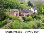 a rural hamlet in shropshire... | Shutterstock . vector #79999159