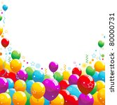 Balloons Illustration 10...