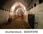 The Miedzyrzecz Fortification Region - inside of the Nazi Germany fortification system - stock photo