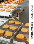 Food production - stock photo