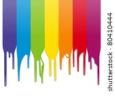 vector color paint | Shutterstock .eps vector #80410444