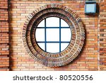 old wall and window space | Shutterstock . vector #80520556