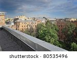 roofs of the old city | Shutterstock . vector #80535496