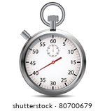 stopwatch. vector | Shutterstock .eps vector #80700679