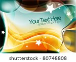 abstract colorful background | Shutterstock .eps vector #80748808