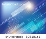 interior background | Shutterstock .eps vector #80810161