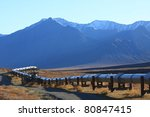 Oil Pipeline On The North Slope ...
