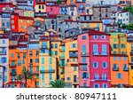 Detail Scenic View Of Colorful...