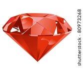 ruby | Shutterstock .eps vector #80973268