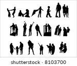 family | Shutterstock .eps vector #8103700