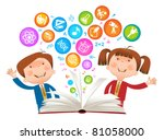 book child symbol.the school of ...