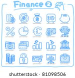 pure series   hand drawn... | Shutterstock .eps vector #81098506