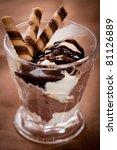 ice cream dessert   Shutterstock . vector #81126889