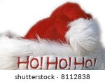 santas hat - stock photo
