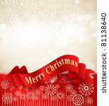 vector christmas background...   Shutterstock .eps vector #81138640