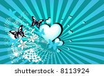 happy valentines day | Shutterstock .eps vector #8113924
