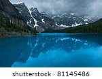 in banff national park  alberta ... | Shutterstock . vector #81145486