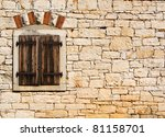 Window In The Old Stone Wall