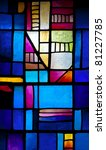 Abstract Stained Glass Window...