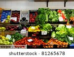 All Kind Of Fresh Vegetables A...