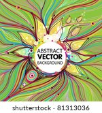 vector abstract background | Shutterstock .eps vector #81313036