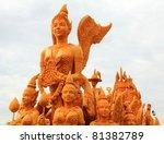 The Festival Parades Buddhist...