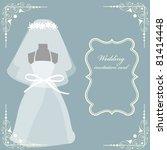 wedding background | Shutterstock .eps vector #81414448