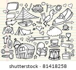notebook doodle design elements ... | Shutterstock .eps vector #81418258