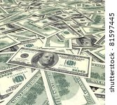 Cash Dollar Signs. Texture