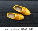 Traditional Dutch Wooden Shoes...
