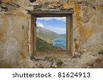 Window  Fort De La Turr  1891...