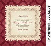 Vintage Invitation Greeting...