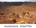 Usa  Arizona  Meteor Crater...