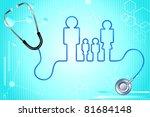 illustration of family icon... | Shutterstock .eps vector #81684148