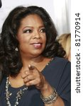 Los Angeles   Nov 1  Oprah...