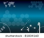 vector illustration background... | Shutterstock .eps vector #81834160