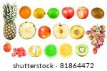 isolated fruit | Shutterstock . vector #81864472
