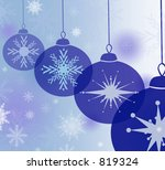 blue bauble background   Shutterstock . vector #819324