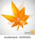 autumn abstract background with ...
