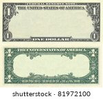Clear 1 Dollar Banknote Patter...