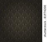 damask seamless pattern on... | Shutterstock .eps vector #81974200
