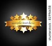 beautiful vector label sign... | Shutterstock .eps vector #81996658