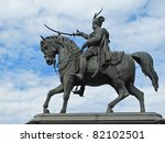 statue of count josip jelacic... | Shutterstock . vector #82102501