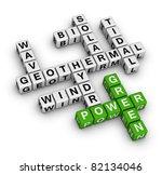 Green Power - stock photo