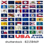 united states of america states ... | Shutterstock . vector #82158469