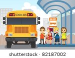 a vector illustration of little ... | Shutterstock .eps vector #82187002