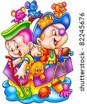 funny cartoons   Shutterstock . vector #82245676