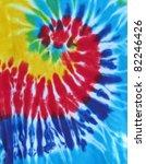 spiral tie dye design - stock photo